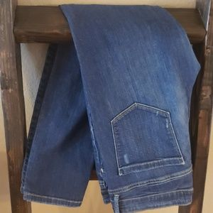Joe Fresh Slim Leg Midrise Jeans, Dark wash